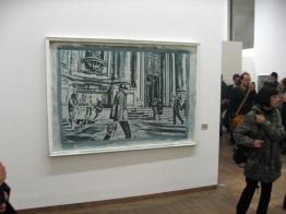 "Galerie Ruberl: Paul Landerl,""Il Problema piu importante"", Pigmentfarbe auf Leinwand, belichtet, 140 x 200 cm, 2013"